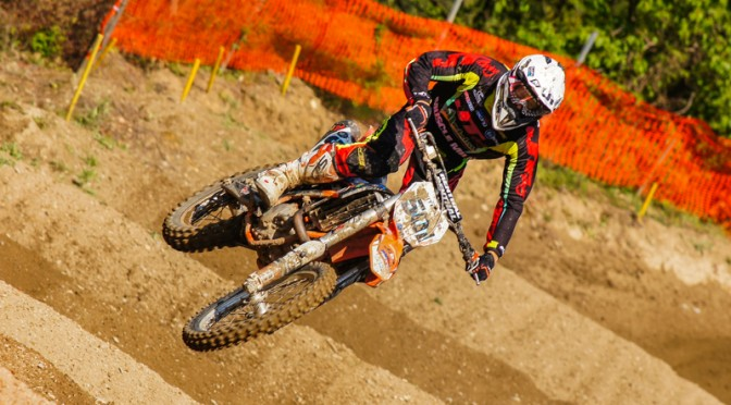 Motocross Staatsmeisterschaft in Imbach 2014